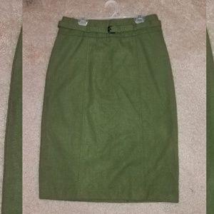Belted Pencil Skirt sz6